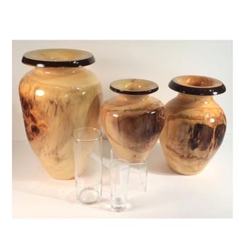 Aspen Wood Vases