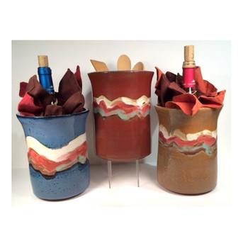 Lake Wine Bucket/Utensil Holder