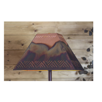 Rectangle Copper Lamp Shades