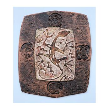 Lizard Clay Art