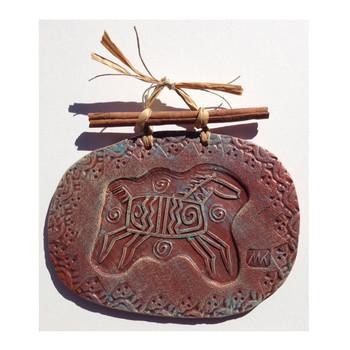 Horse Clay Art