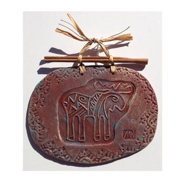 Moose Clay Art