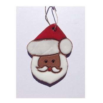 Suzy Santa Ornament