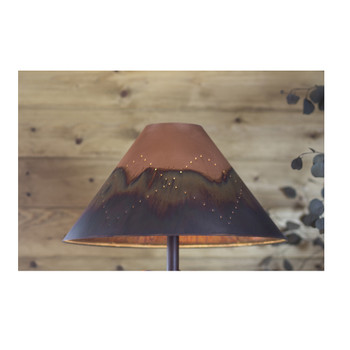 Round Copper Lamp Shades