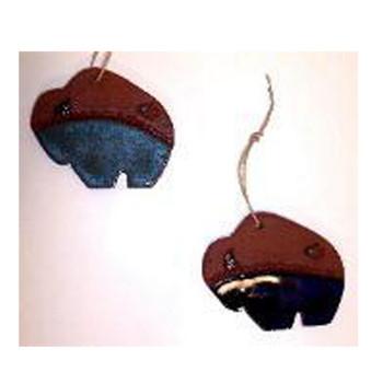 Suzy Buffalo Ornament