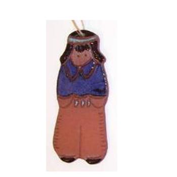 Suzy Indian Boy Ornament