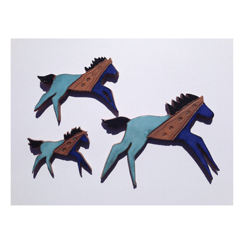 Suzy Running Legs Horse