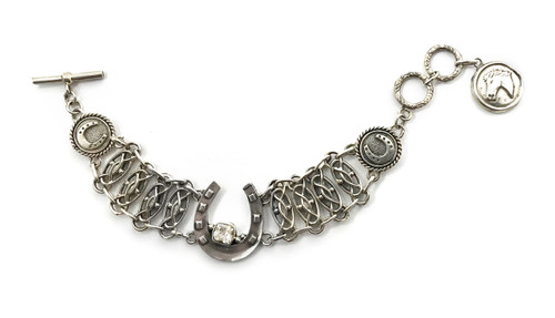 Horseshoe Mesh Bracelet