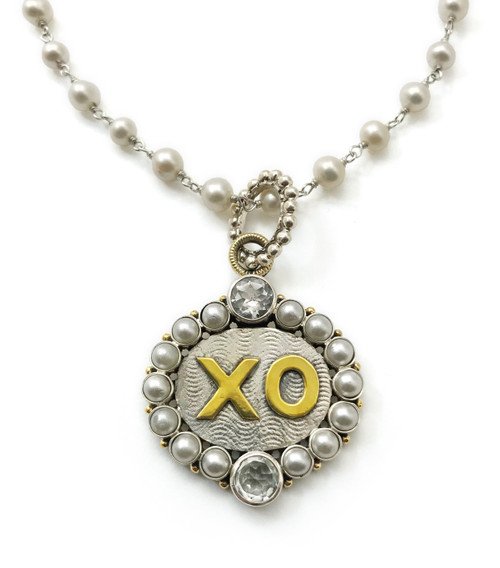 XO Hugs and Kisses Necklace