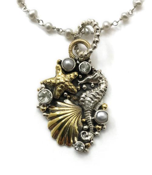 Hippocampus Seahorse Necklace