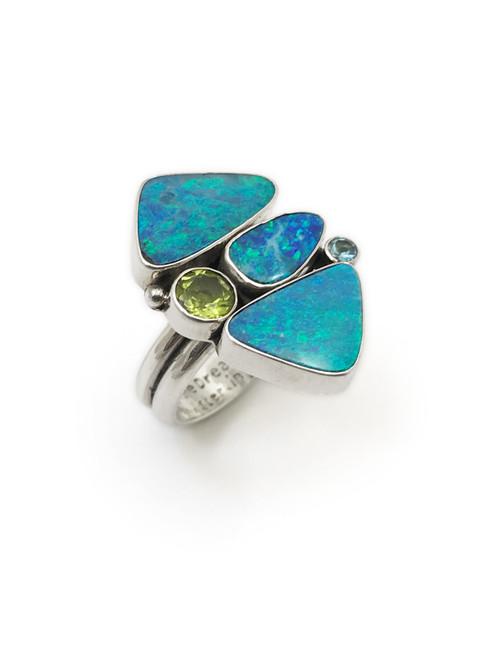 3 Opal Ring