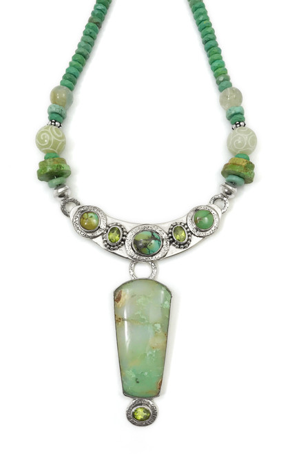 Glorious Green Goddess Necklace