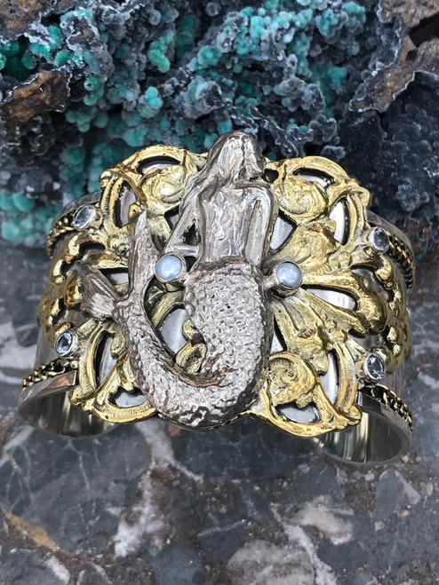 Siren's Song Mermaid Cuff