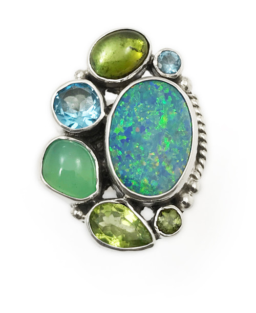 Exquisite Opal Ring