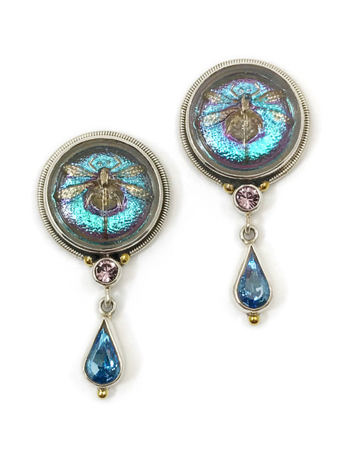Elegant Dragonfly Earrings