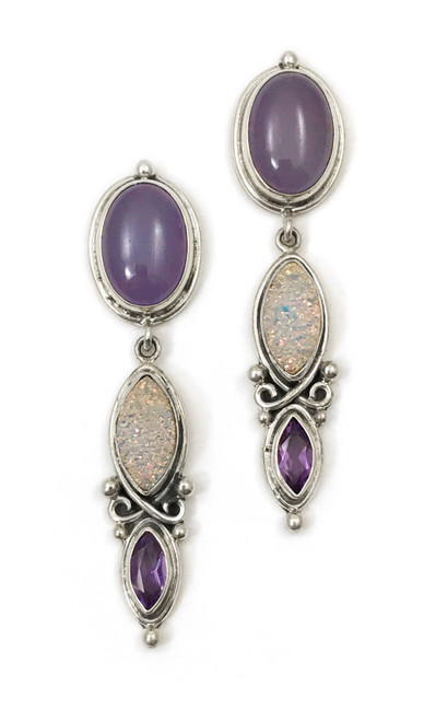 Purple Haze Earrings
