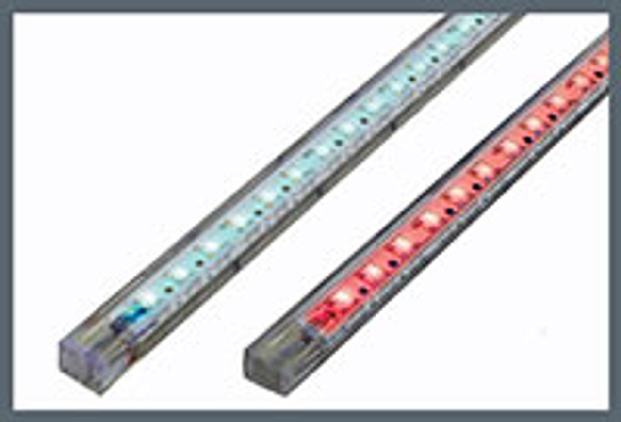 Strip 45 LED 50cm (20in) White-Blue (Dual Color) - Dual Lead