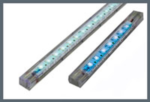 High Output Strip 30 LED 50cm (20in) White - Dual Lead