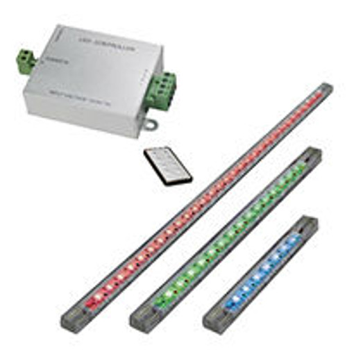 Lifetime Warranty RGB LED Light Kit with Radio Frequency Remote