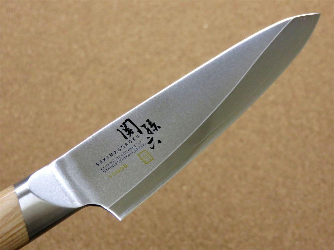 Japanese KAI SEKI MAGOROKU Kitchen Petty Utility Knife 120mm 4 7