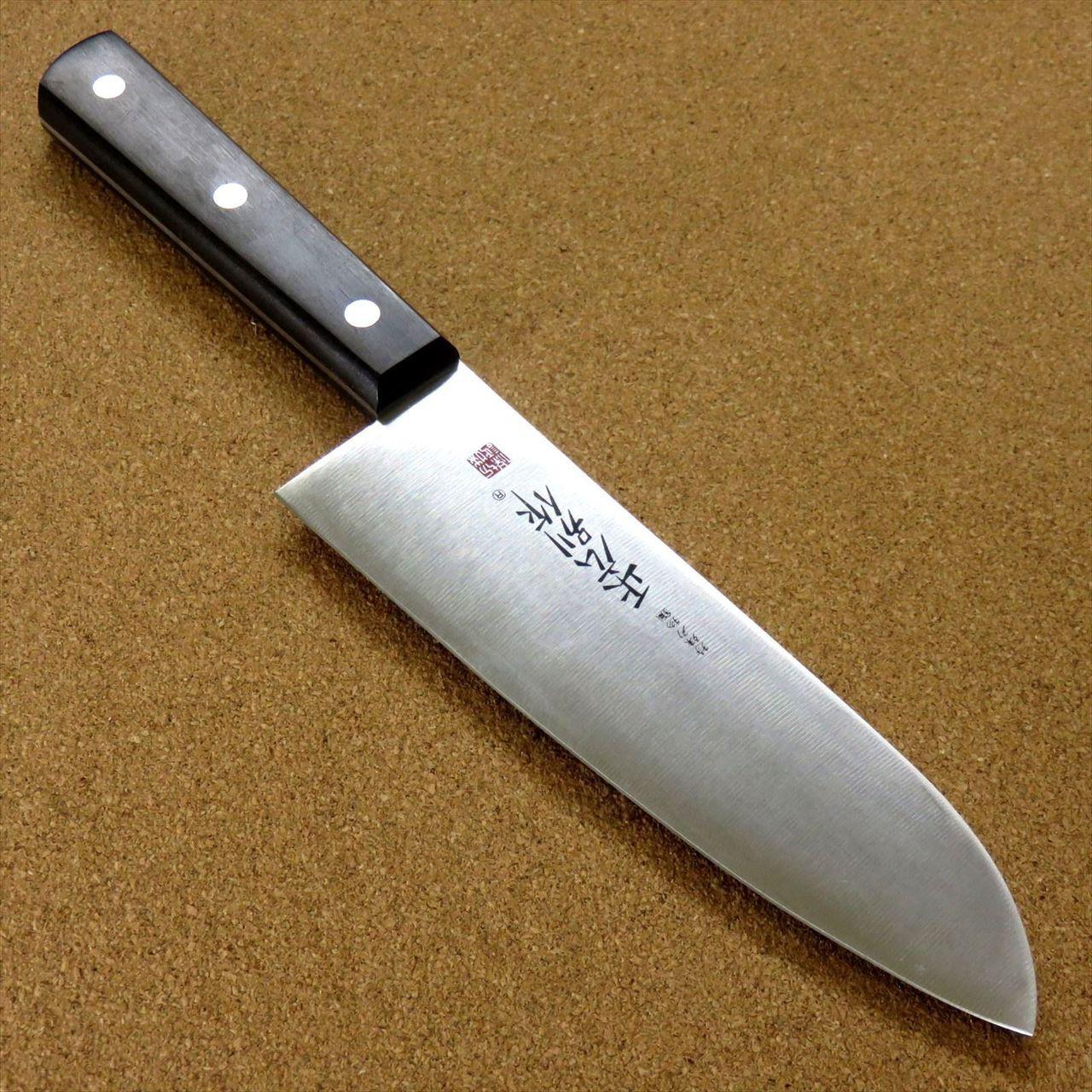 Japanese Masahiro Kitchen Santoku Knife 6.7\