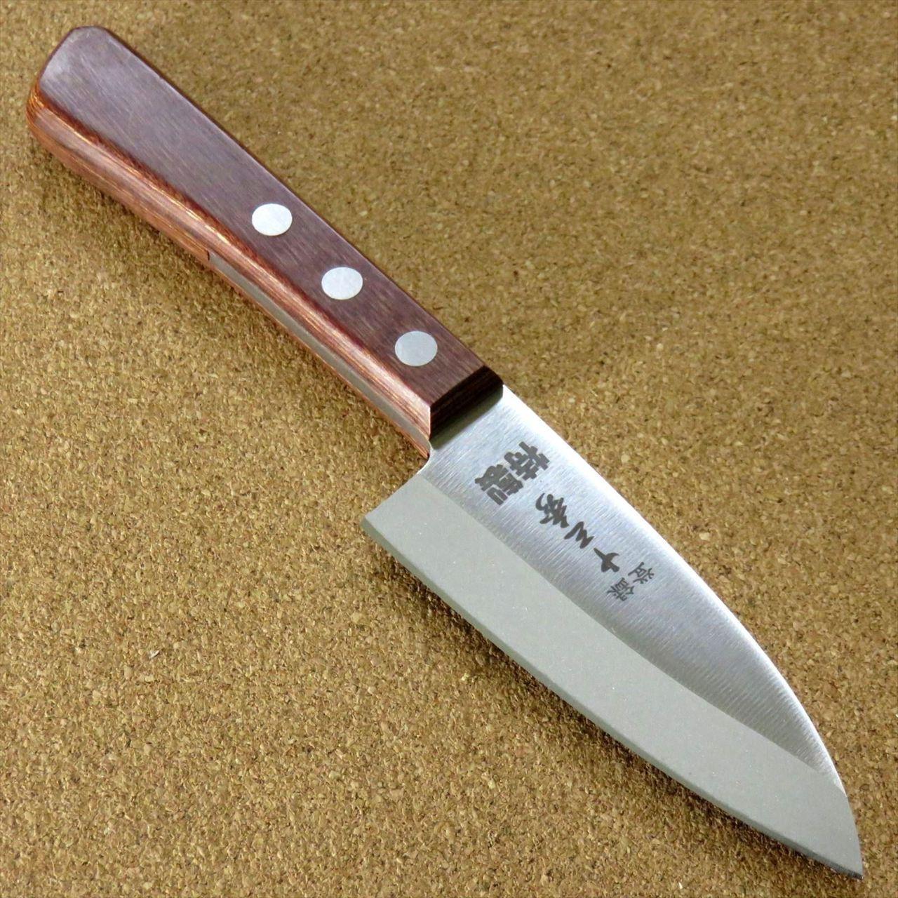 Japanese Kitchen Small Deba Knife 95mm 3 7 Fishing Outdoor Fish Cut Seki Japan