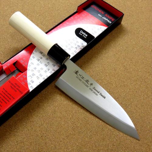 Japanese Masamune Kitchen Deba Knife 6 inch Single edged Right handed SEKI JAPAN