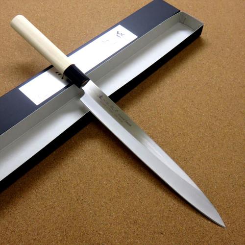 Japanese Masamune Kitchen Sashimi Knife 9 inch Single edged Right handed JAPAN