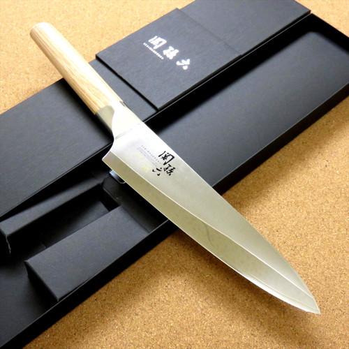 Japanese KAI SEKI MAGOROKU Kitchen Gyuto Chef's Knife 180mm 7 in 3 Layers JAPAN