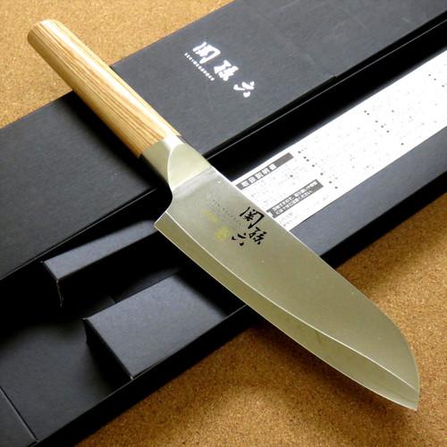 Japanese KAI SEKI MAGOROKU Kitchen Santoku Knife 145mm 6 in 3 Layers SEKI JAPAN
