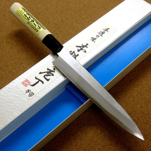 Japanese Kiyotsuna Kitchen Sashimi Yanagiba Knife 180mm 7 in Right handed JAPAN