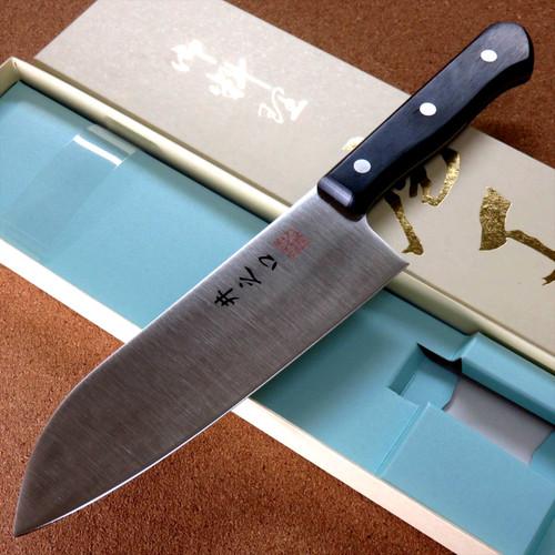 Japanese Kitchen Gyuto Santoku Knife 170mm 7 in Gingami #3 Universal SEKI JAPAN