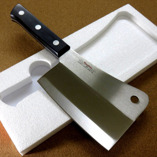 Japanese MASAHIRO Kitchen Cleaver Butcher Chopper Knife 160mm 6 inch SEKI JAPAN