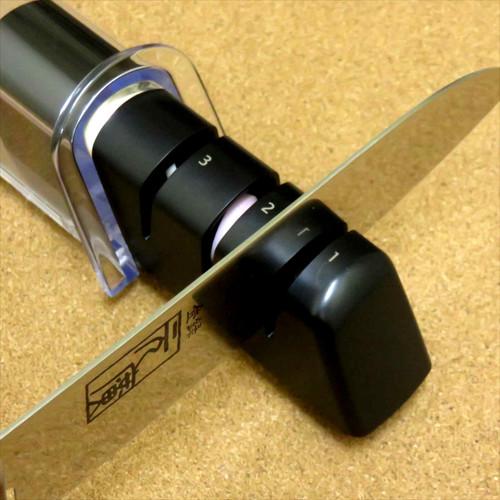 Japanese Kai Magoroku Kitchen Knife Sharpener Blades diamond ceramic 3step JAPAN