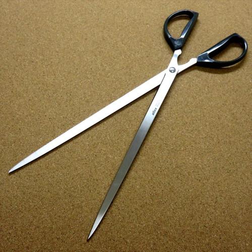 Japanese ALLEX Just Size Scissors Super Long Ideal For A4 Copy Paper Cut JAPAN