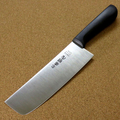 "Japanese Kitchen Usuba Nakiri Knife 160mm 6.3"" Plastic resin handle SEKI JAPAN"