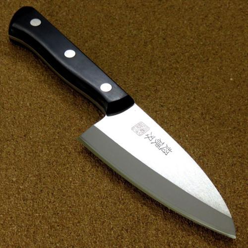 Japanese Kitchen Small Deba Knife 105mm 4.1 inch Right handed SEKI JAPAN Nippon