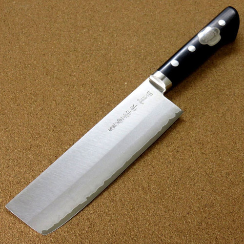 Japanese Kanetsune Kitchen Nakiri Knife 165mm 6.5 inch VG10 3 layers SEKI JAPAN