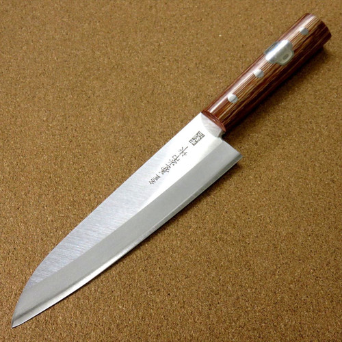 Japanese Kanetsune Kitchen Gyuto Chef's Knife 180mm 7.1 inch Warikomi SEKI JAPAN