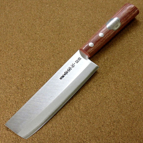 "Japanese Kanetsune Kitchen Small Vegetable Knife 135mm 5.3"" Warikomi SEKI JAPAN"