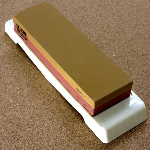 Japanese Double Sided Knife Sharpening Stone Whetstone Grindstone #1000/#3000