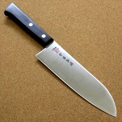 Japanese Kitchen Santoku Knife 6.5 inch Household use Serrated blade SEKI JAPAN