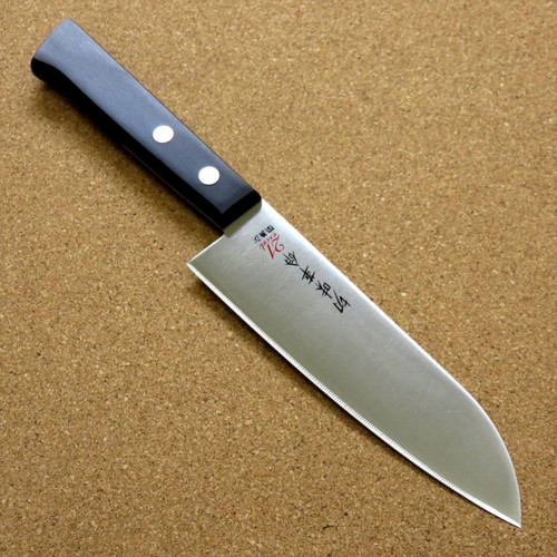 Japanese Kitchen Santoku Knife 5.3 inch Household use Serrated blade SEKI JAPAN