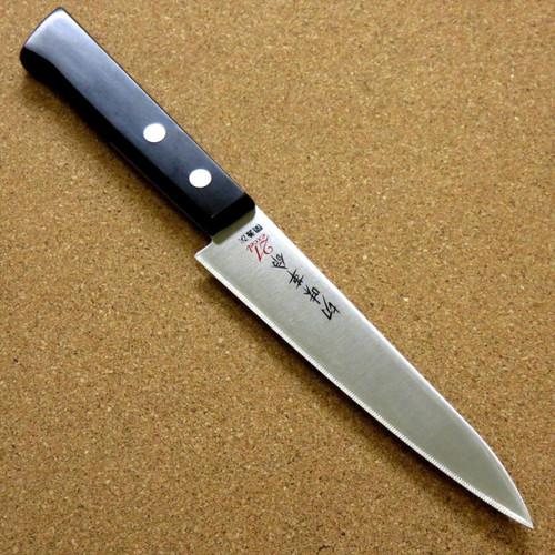 Japanese Kitchen Utility Knife 5.1 inch Household use Serrated blade SEKI JAPAN