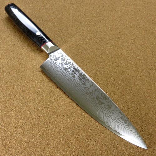 "Japanese SAIUN Kitchen Gyuto Chef's Knife 200mm 7.9"" VG-10 Damascus SEKI JAPAN"