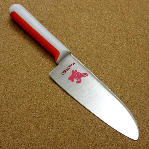 """Japanese Masahiro Kitchen Kids Knife 5.1"""" For Underclassmen Left handed SEKI JAPAN"""