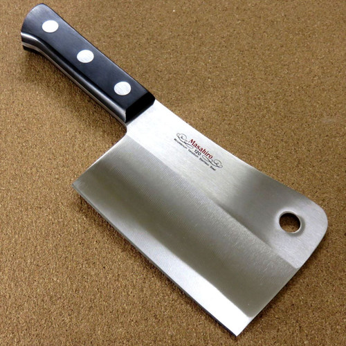 "Japanese Masahiro Kitchen Cleaver Butcher Chopper Knife 140mm 5.5"" SEKI JAPAN"