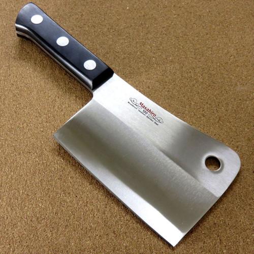"Japanese Masahiro Kitchen Cleaver Butcher Chopper Knife 140mm 5.5"" SEKI JAPAN"