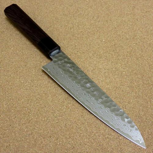 Japanese Kitchen Gyuto Chef's Knife 180mm 7.1 inch Damascus 45 Layers SEKI JAPAN