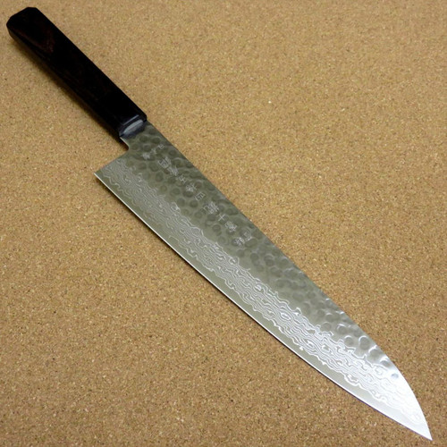 Japanese Kitchen Gyuto Chef's Knife 240mm 9.4 inch Damascus 45 Layers SEKI JAPAN